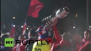 Chile: National team win first ever Copa crown, beating Argentina 4-1