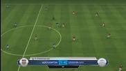 Fifa 14 / Fc Northampton - Leicester City / Начело на Leicester city
