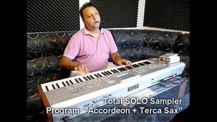 Accordeon / Terca Sax - Juzisound Total Solo Sampler