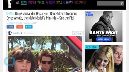 Derek Zoolander Has a Son! Ben Stiller Introduces Cyrus Arnold, the Male Model's Mini-Me