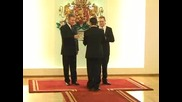 "Вицепрезидентът Ангел Марин връчи орден ""Мадарски конник"""