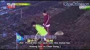 [ Eng Subs ] Running Man - Ep.201 ( Minho, Sung Gyu, Hoya, Jin Young, Chansung, Min Hyuk, Bora)- 2/2