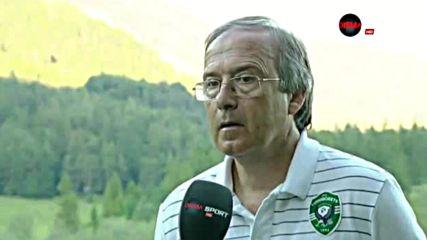 Дерменджиев: Докато бяхме свежи, показахме доста футбол
