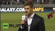 USA: Steven Gerrard unveiled as LA Galaxy's newest addition