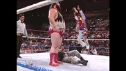 The Natural Disasters vs The Bushwhackers Summerslam 1991