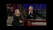 Madonna - interview - David Letterma 2