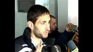 Камбуров: Тарторите на агитката бяха категорични, че мачът няма да завърши