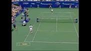 Us Open 2002 Final - Pete Sampras - Andre Agassi