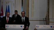 France: Castro marks beginning of renewed bilateral relations with Paris