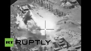 Iraq: US-led airstrikes bombard suspected IS building near Al Asad