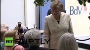 """Меркел: """"За по-добро бъдеще трябва да знаем немската отговорност за миналото."""""""