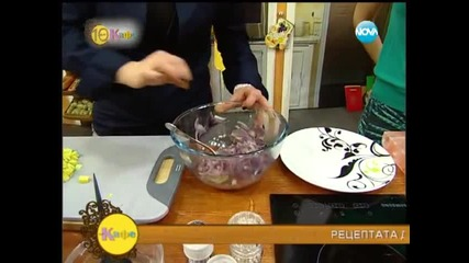 Рецептата днес - Ципура с маринован червен лук - На кафе
