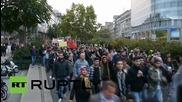 Germany: Kurdish protesters clash with police during Ankara bombing solidarity demo