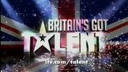80-годишната Janey Cutler вдигна журито и цялата зала на крака ! Великобритания Търси Талант !!
