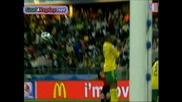 Испания 3 - 2 Юар - Купа на конфедерациите 28.06.09
