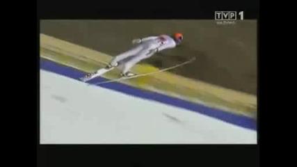 Tom Hilde 217, 5m - Planica K185 2008 - Team