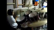 6 Year Old Drummer (Blink 182 - Whats My Age Again)