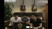 Jonas Brothers Live Facebook Webcast Part 9