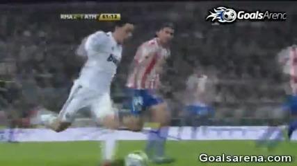 Real Madrid vs Atletico Madrid 3 - 1 Full Highlights 13 - 01 - 2011