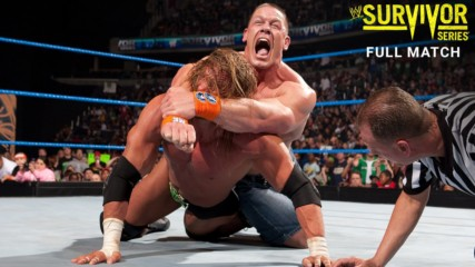 John Cena vs. Triple H vs. Shawn Michaels - WWE Championship Triple Threat Match Survivor Series 2009 (Full Match - WWE
