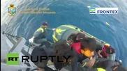 Гърция: Бреговата охрана прибира по 200 емигранти на ден на остров Кос