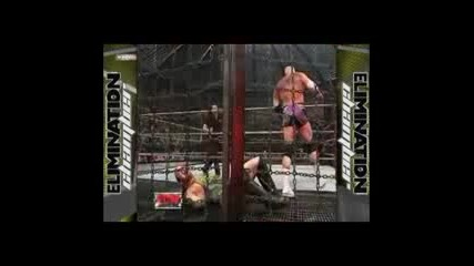 (част 7) Wwe Satan's Prison - The Anthology of the Elimination Chamber