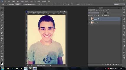 Как да направим хубав ефект с Photoshop Cs6