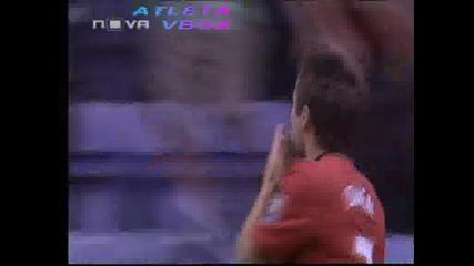 Уигън - Манчестър Юнайтед 0:5 Гол на Димитър Бербатов