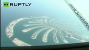 Two Men on Real-Life Jetpacks Soar Above Dubai