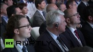 Russia: Medvedev attends Volkswagen factory inaguration