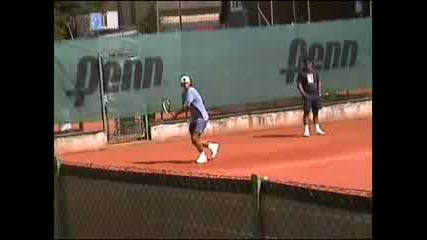 Nadal Backhand And Forehand