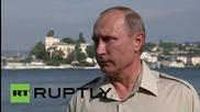 "Russia: Putin criticises Kiev's Ukraine ""escalation at front-line"""