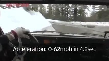 Audi Quattro - Газ до дупка