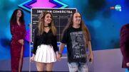 "Второ предизвикателство: Невена и Венко - lip sync - ""Забраненото шоу на Рачков"" (17.10.2021)"