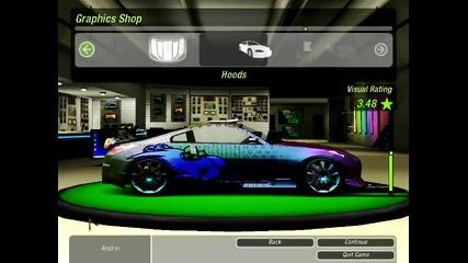 Как да си направим кола за дрифт в Need for Speed U2