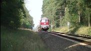 Легендарните руски дизелови локомотиви 07 серия препускат по Ж. П. линиите в Германия и Европа !