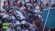 Lebanon: Water cannons, rubber bullets fired in Beirut waste protests