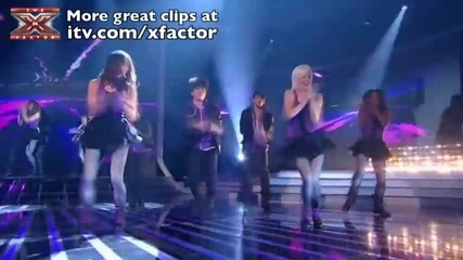 One Direction sing Only Girl In The World - The X Factor Live Semi-final - itv_com_xfactor