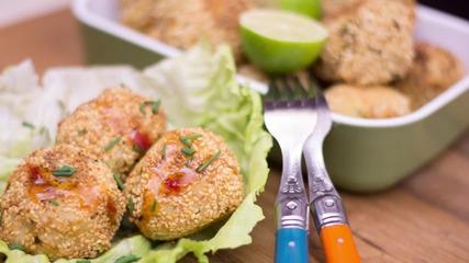 Goodlife: Пикантни кюфтенца с риба тон и ориз