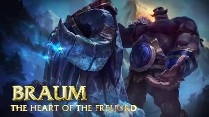 Braum Champion Spotlight - League of Legends