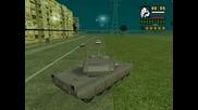 Gta Sofiq Tank vzrivi Lada ( vaz )