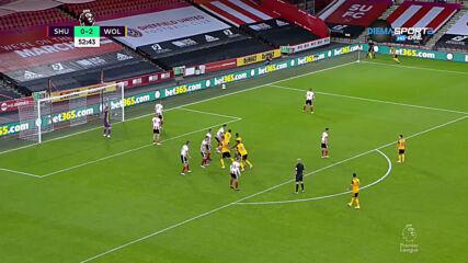 Шефилд Юнайтед - Уулвърхемптън 0:2 /репортаж/