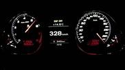 Audi Rs6 Mtm 730ps 0-333 km h Bulgaria