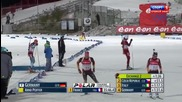 E.on Ibu World Cup Biathlon - Ostersund Mixed Relay 2013.11.24