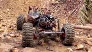 Офроуд скално катерене с UTV-чудовище