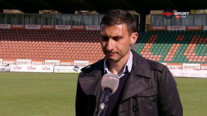 Треньорът на Добруджа атакува политиката на елитните ни отбори
