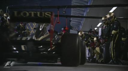 F1 2011 Abu Dhabi Gp Official race edit H D