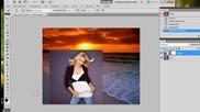 Маска слоя в Фотошопе, как легко соединить картинки