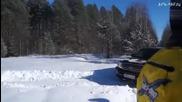 Руснаци тестват в около 50-60 см. сняг Лада Нива и Toyota Land Cruiser L200