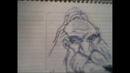 Рисуване На Dwarf Priest ( Wow )